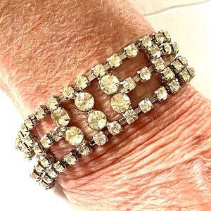 1960s Rhinestone Bracelet